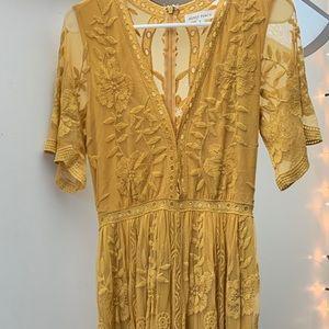 Honey punch maxi dress/romper